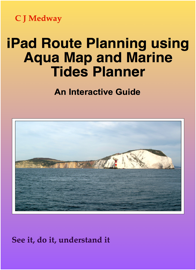 iPad Route Planning using Aqua Maps and Marine Tides Planner