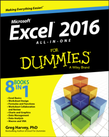 Excel 2016 All-in-One for Dummies book