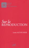 Download and Read Online Sur la reproduction