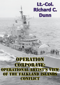 Operation Corporate: Operational Artist's View of the Falkland Islands Conflict Buch-Cover