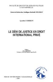 Le D Ni De Justice En Droit International Priv