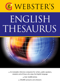 Webster's American English Thesaurus book