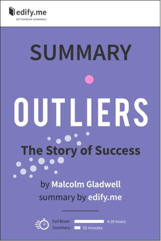 Outliers The Story Of Success In Depth Summary On Apple Books