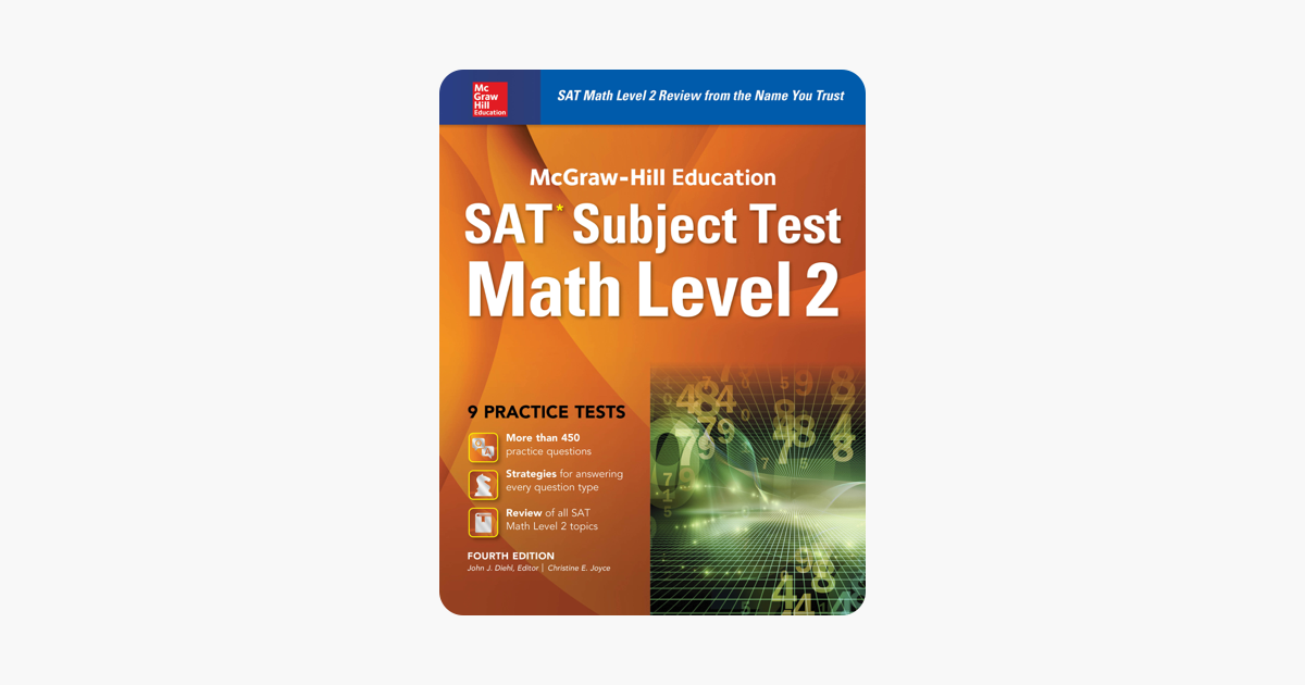 ‎McGraw-Hill Education SAT Subject Test Math Level 2 4th Ed