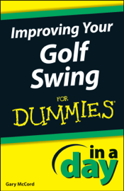 Improving Your Golf Swing In A Day For Dummies book