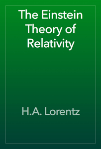 The Einstein Theory of Relativity Book Review