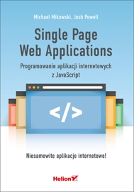 Single Page Web Applications Programowanie Aplikacji Internetowych Z Javascript