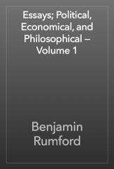 Essays; Political, Economical, and Philosophical — Volume 1