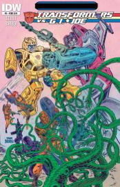 Transformers vs G.I. Joe #0 book