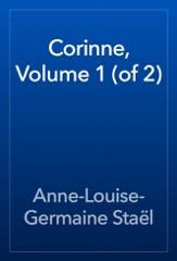 Corinne, Volume 1 (of 2)