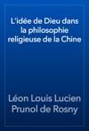 Lide De Dieu Dans La Philosophie Religieuse De La Chine