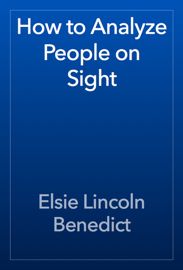 How to Analyze People on Sight book