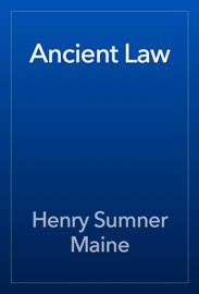 Ancient Law book