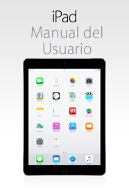 Manual del usuario del iPad para iOS 8.1 book