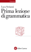 Prima lezione di grammatica Book Cover