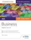 AQA ASA Level Business Student Guide 2 Topics 14-16
