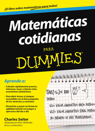 Matemáticas cotidianas para Dummies book