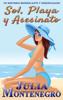 Julia Montenegro - Sol, playa y asesinato ilustración