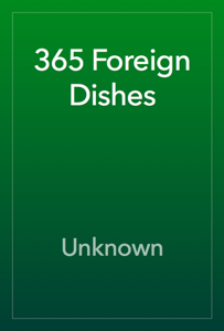 365 Foreign Dishes Book Review