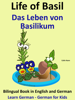 Colin Hann - Learn German: German for Kids. Life of Basil - Das Leben von Basilikum. Bilingual Book in German and English. ilustración