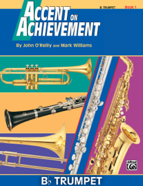 Accent on Achievement: B-Flat Trumpet, Book 1