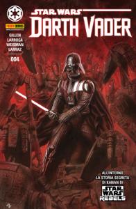 Darth Vader 4 Copertina del libro