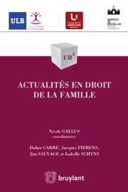 Actualit S En Droit De La Famille