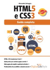HTML5 e CSS3 Libro Cover