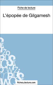 L'épopée de Gilgamesh La couverture du livre martien