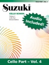 Suzuki Cello School - Volume 4 Revised