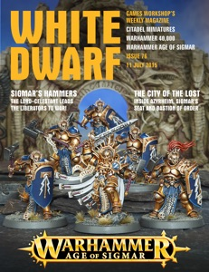 White Dwarf Issue 76: 11th July 2015 Book Cover