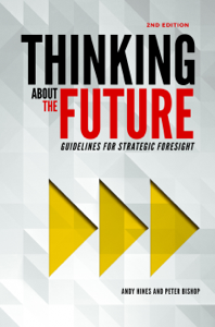 Thinking about the Future: Guidelines for Strategic Foresight (2nd edition) La couverture du livre martien