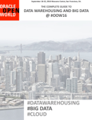 Data Warehousing and Big Data #OOW16