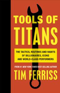 Tools of Titans La couverture du livre martien