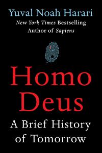 Homo Deus La couverture du livre martien