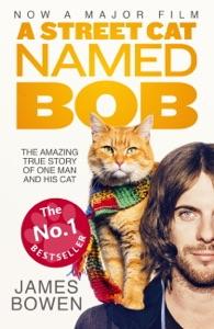 A Street Cat Named Bob Book Cover
