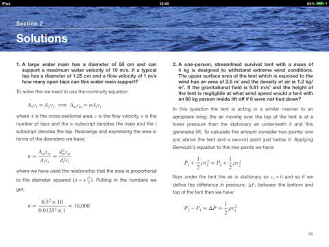 Fluids and Waves: Solutions Manual by Roger Moore on Apple Books