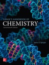 Langes Handbook Of Chemistry Seventeenth Edition