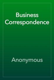 Business Correspondence book