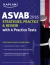 Kaplan ASVAB 2016 Strategies Practice And Review With 4 Practice Tests