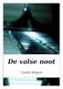 Claudio Ruggeri - De valse noot artwork