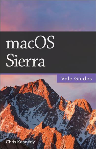 macOS Sierra (Vole Guides)
