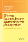 Difference Equations Discrete Dynamical Systems And Applications