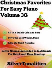 CHRISTMAS FAVORITES FOR EASY PIANO VOLUME 3 G