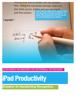 David Allen - iPad Productivity Grafik