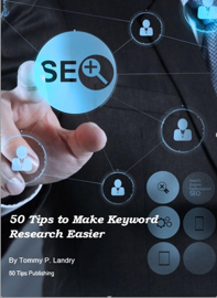 50 Tips to Make Keyword Research Easier book
