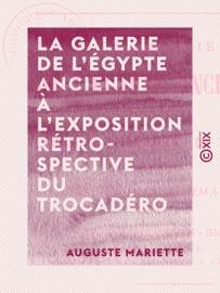 LA GALERIE DE LÉGYPTE ANCIENNE à LEXPOSITION RéTROSPECTIVE DU TROCADéRO - EXPOSITION UNIVERSELLE DE PARIS, 1878