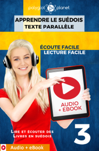Apprendre le suédois - Texte parallèle : Écoute facile - Lecture facile : Audio + eBook N° 3 La couverture du livre martien