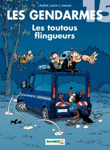 Les Gendarmes La couverture du livre martien