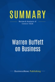 SUMMARY: WARREN BUFFETT ON BUSINESS